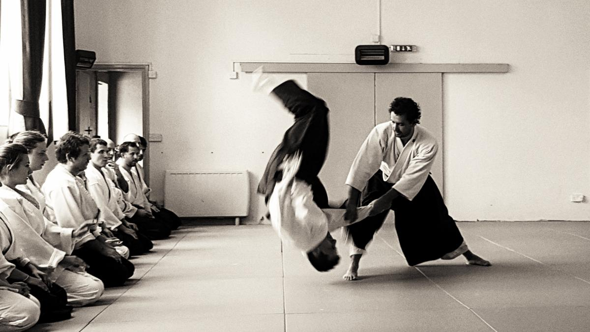 Training and Aikido